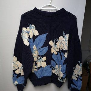 Vintage 1980s Renso Fabiani Hand Knits Sweater